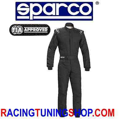 Racing Overal Suit Sparco Fia Sprint Rs2.1  Size 52  Fia 8856-2000 Model 2017