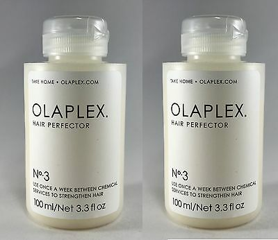 100% Authentic Olaplex No.3 Hair Perfector 100 ml /3.3 oz x 2