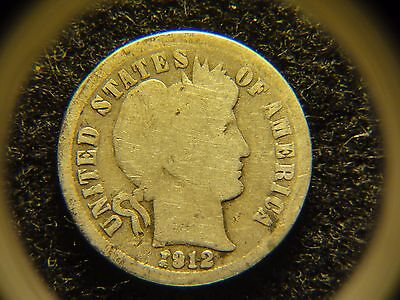 1912-D 10C Barber Dime ***Make an offer***