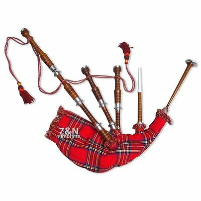 Scottish Great Highland Bagpipes Sheeshamwood Full Set/dudelsack,gaita,bagpipes