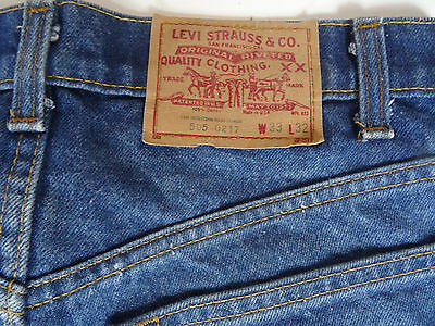 Vintage 80ies Levis 505-0217 31x31 Made in USA