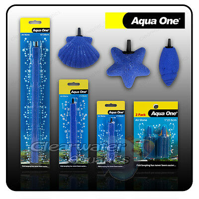 AIR STONES Aquarium Air PUMP Oxygen Diffuser FISH TANK AERATOR Curtain Bar Decor