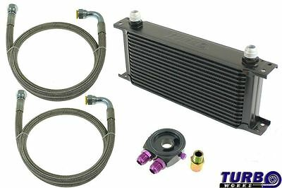 NEUF  SPORT OIL COOLER KIT CN-OC-137 25-ROWS 260x195x50 - AN8