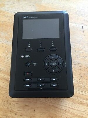 Focus Enhancements Firestore FS-4 Pro HD Silver Portable DTE Recorder