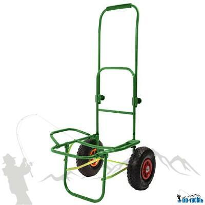 XL Angel Trolley Karpfen Transportwagen Transportkarre Barrow Tacklekarre Green