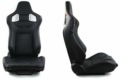Neuf  Two Sport Seats Mn-Fo-032 Glock Black Carbon