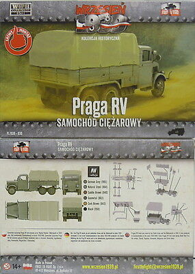 LKW Praga RV Plane, First To Fight, 1/72 Plastik ,NEU,