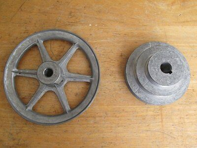 """Two New Congress Pulleys  4"""" Step  & 6"""""""