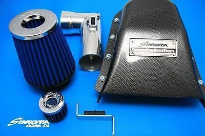 Neuf Top Cold Air Intake Simota Carbon Aero Form Sm-Pt-010 Honda Civic 06-11 1.
