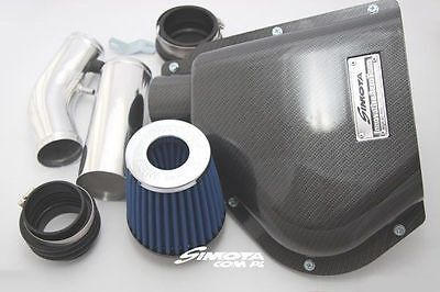 Neuf  Top Cold Air Intake Simota Carbon Aero Form Sm-Pt-002 Honda Civic 92-95 Eg