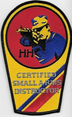 Coast Guard Uscg Certified Small Arms Instructor Hh Sniper Law Enforcemnt