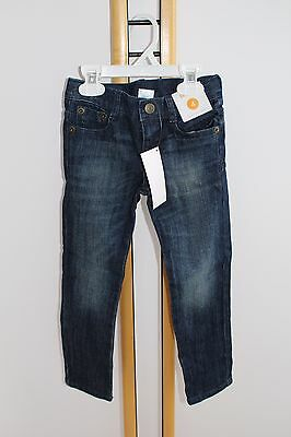 Gymboree Denim Jeans Pants Skinny Girl's Size 7 NWT NEW Adjustable Waist