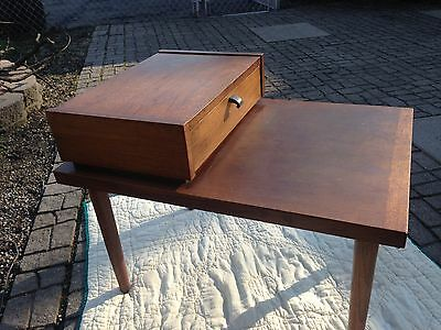 Mid Century Modern Two-Tier End Table