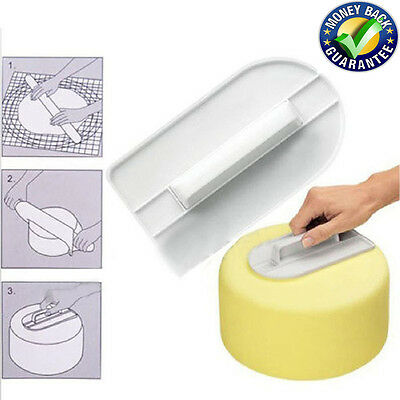 Cake Decorating Smoother Paddle Icing Fondant Polisher Finisher Sugarcraft Cup