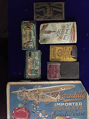 Vintage Lot Sewing Needles Victorian.
