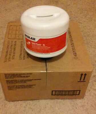 Ecolab Solid Power XL  Case of 4 9lb tubs