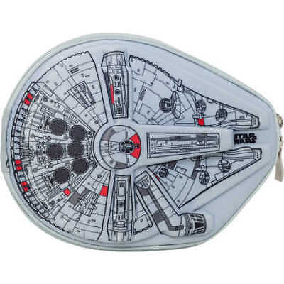 NEW Star Wars Millennium Falcon Shaped Pencil Case