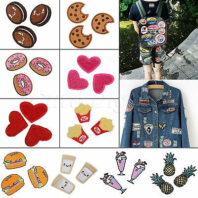 36 Size Embroidered Patches Sewing Iron Jeans Cloth Fabric Hand Applique Craft