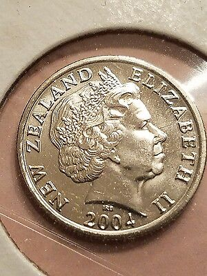 2004 New Zealand 5 Cent Coin, 48,000 Minted