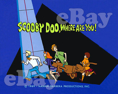 Rare! SCOOBY DOO WHERE ARE YOU Cartoon Color TV Photo HANNA BARBERA Studios