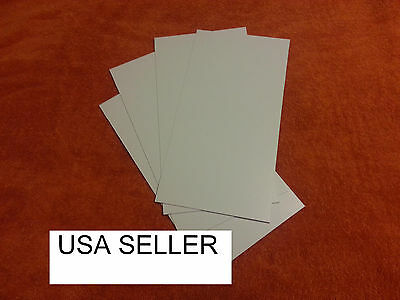 White Styrene Sheets (10) .040 (1.0 Mm)  0.04 .04 Vacuum Forming For Machine