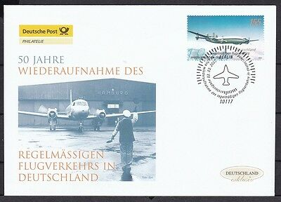 BRD 2005 Deutsche Post FDC MiNr. 2450   Langstreckenflugzeug Lockheed Super Cons