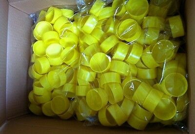 Pack of 200 Scaffold Plastic Tube End Caps - Latest Design