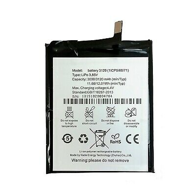 Bateria Movil BQ M5 3120 mAh Original