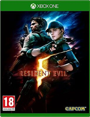 Resident Evil 5 HD Remake (Xbox One) NEW & Sealed