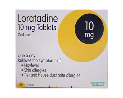 Loratadine one a day relief Hay fever allergy tablet 30 loratidine brand mayvary