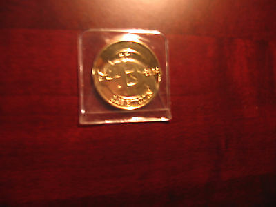 Only 50 - MicroSoul Loaded .01 btc (casascius/Physical bit coin/RARE COIN)
