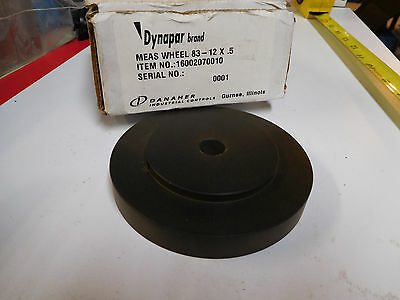 new Danaher DYNAPAR 16002070010 measuring wheel 83 - 12 x .5