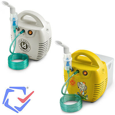 Inhalateur piston Little Doctor LD-211C médical respiratoire enfants adultes