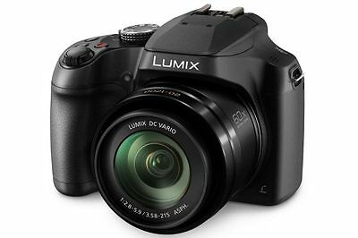 Panasonic Lumix DMC-FZ82 Digital Bridge Camera in Black 60x Zoom BNIB UK Stock