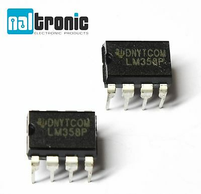 LM358P Dual Operationsverstärker DIP8 2-fach IC DIP-8 Amplifier