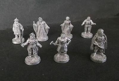Leading edge king Arthur of round table lot of 7 miniature figure Extremely rare