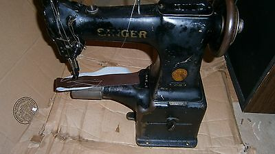 SINGER 47W62 Cylinder Bed Lockstitch  Industrial Sewing Machine