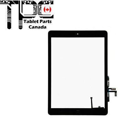 iPad 5 Air 1st Gen Glass Digitizer Touch Screen Display BLACK Assembly Home Btn