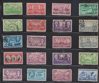 (U20-20) 1912-50 USA mix of 63stamps value to 4c (T)