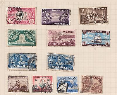 (Q20-41) 1935-60s Africa mix of 19stamps value to 1/- (C)