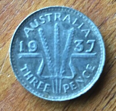 Australian Threepence 1937 Fantasy Release Date Collectable Only Token Coin New