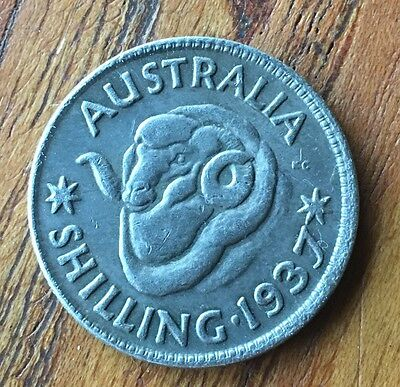 Australian Shilling 1937 Fantasy Release Date Collectable Only Token Coin New