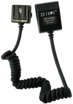New Dedicated TTL Off Camera Shoe Cord For Canon 580EX II
