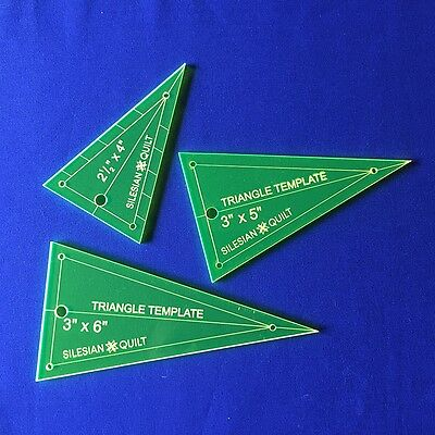 Template for Patchwork: Triangle set (3 pcs)