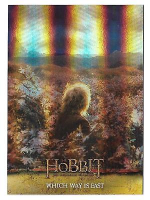 2015 The Hobbit Desolation of Smaug Silver Foil Card # 8
