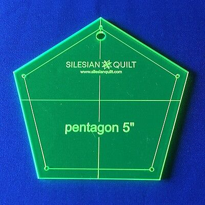 Template for Patchwork: Pentagon for Charm Pack