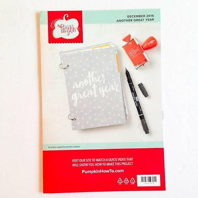 Paper Pumpkin Kit from Stampin Up December 2016 ANOTHER GREAT YEAR New In Box