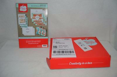 Paper Pumpkin Kit from Stampin Up August 2016 BOLD BOTANICALS New In Box