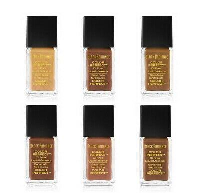 Black Radiance Color Perfect Liquid Makeup Oil Free Foundation, Pick Your Shade