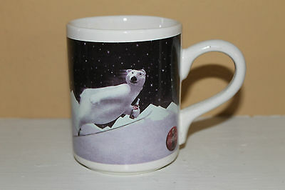 Neat Collectible Gibson Christmas 1996 Coca-Cola Polar Bear Mug!